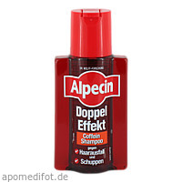 Alpecin Doppelt Effekt Shampoo, 200 ML, Dr. Kurt Wolff GmbH & Co. KG