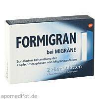 Formigran, 2 ST, GlaxoSmithKline Consumer Healthcare GmbH & Co. KG
