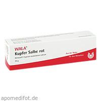 KUPFER-SALBE ROT, 30 G, Wala Heilmittel GmbH