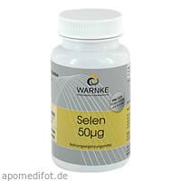 Selen 50ug (Hefe), 250 ST, Warnke Vitalstoffe GmbH