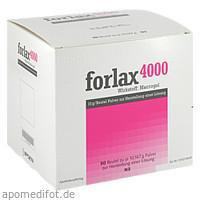 Forlax 4000 Beutel, 50 ST, Emra-Med Arzneimittel GmbH
