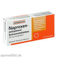 Naproxen-ratiopharm Schmerztabletten, 20 ST, ratiopharm GmbH