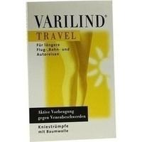 VARILIND TRAVEL Knie Baumwolle anthrazit XS, 2 ST, OTG Handels GmbH