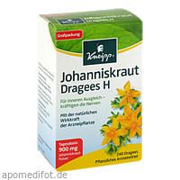 KNEIPP Johanniskraut Dragees H, 240 ST, Kneipp GmbH