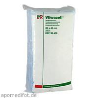 Vliwazell Saugkompresse unsteril 20x40cm, 25 ST, Lohmann & Rauscher GmbH & Co. KG