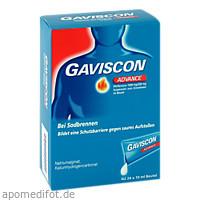Gaviscon Advance Pfefferminz, 24X10 ML, Reckitt Benckiser Deutschland GmbH