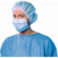 OP-Gesichtsmaske zum Binden blau, 50 ST, Meditrade GmbH