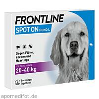 FRONTLINE Spot on H 40 Lösung f.Hunde, 6 ST, Boehringer Ingelheim Vetmedica GmbH