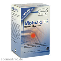 Mobiakut Gelenk-Kapseln mit Glucosamin, 90 ST, Astrid Twardy GmbH