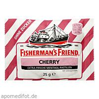 FISHERMANS FRIEND CHERRY OHNE ZUCKER, 25 G, Queisser Pharma GmbH & Co. KG