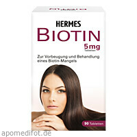 Biotin Hermes 5mg, 90 ST, Hermes Arzneimittel GmbH