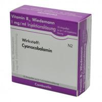 VITAMIN B12 Wiedemann, 10 ST, COMBUSTIN Pharmazeutische Präparate GmbH