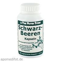 Schwarz Beeren Kapseln, 200 ST, Hirundo Products