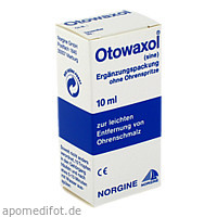 OTOWAXOL SINE, 10 ML, MEDA Pharma GmbH & Co.KG