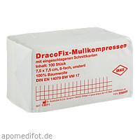 DRACOFIX OP KOM unsteril 7.5X7.5 8fach, 100 ST, Dr. Ausbüttel & Co. GmbH