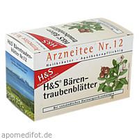 H&S BAERENTRAUBENTEE, 20X2.7 G, H&S Tee - Gesellschaft mbH & Co.