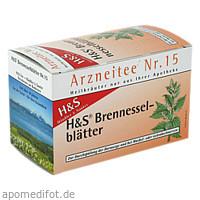 H&S BRENNESSELBLAETTERTEE, 20X1.6 G, H&S Tee - Gesellschaft mbH & Co.