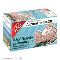 H&S SCHAFGARBENTEE, 20X1.7 G, H&S Tee - Gesellschaft mbH & Co.