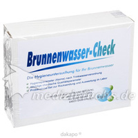 Brunnenwasser-Check, 1 ST, Dr. Drexler + Dr. Fecher Gbr