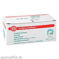 NOBALUMENAL 54x70mm unsteril Augenkompresse, 20 ST, Nobamed Paul Danz AG