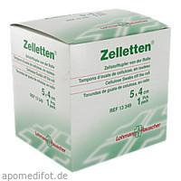 ZELLETTEN TUPFER UNST 5X4, 300 ST, Lohmann & Rauscher GmbH & Co. KG
