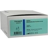 Conveen Optima Kondom Urinal 8cm 35mm 22035, 30 ST, Coloplast GmbH