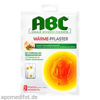 ABC Wärme-Pflaster Capsicum Hansaplast med 12x14, 2 ST, Beiersdorf AG