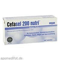 Cefasel 200 nutri Selen-Tabs, 100 ST, Cefak KG