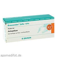 BRAUNOVIDON SALBE, 20 G, B. Braun Melsungen AG