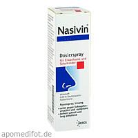 NASIVIN 0,05% Erw.u.Schulkinder Nasendosierspray, 10 ML, Merck Selbstmedikation GmbH