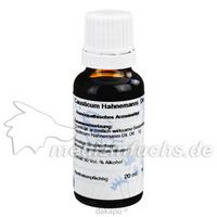 CAUSTICUM HAHNE D 6, 20 ML, Hanosan GmbH