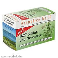 H&S Schlaf-und Nerventee, 20X2.0 G, H&S Tee - Gesellschaft mbH & Co.