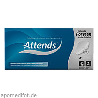 Attends for men Shield 2 Box, 16 ST, Attends GmbH
