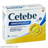 CETEBE Abwehr plus, 120 ST, STADA Consumer Health Deutschland GmbH
