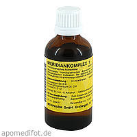 MERIDIANKOMPLEX 1, 50 ML, Meripharm GmbH Arzneimittelvertrieb