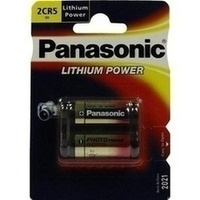 Batterie Lithium 6V 2CR 5M, 1 ST, Vielstedter Elektronik
