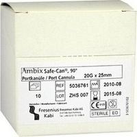 Ambix Safe-CAN Portpunktionskan. gebogen 20Gx25mm, 10 ST, Fresenius Kabi Deutschland GmbH