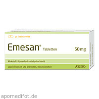 Emesan Tabletten, 50 ST, Aristo Pharma GmbH
