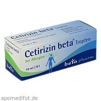 Cetirizin beta Tropfen, 10 ML, betapharm Arzneimittel GmbH
