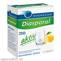 Magnesium Diasporal 250 Aktiv, 20 ST, Protina Pharmazeutische GmbH