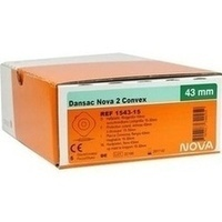 Dansac Nova 2 Standard Convex 1543-15, 5 ST, Dansac GmbH