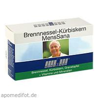 Brennnessel-Kürbiskern MensSana, 60 ST, MensSana AG