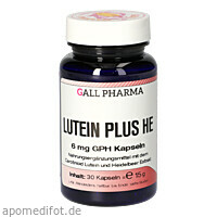Lutein Plus HE 6mg, 30 ST, Hecht-Pharma GmbH