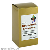 Bockshornkleesamen, 120 ST, Diamant Natuur GmbH