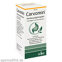 Carvomin Verdauungstropfen, 50 ML, Klinge Pharma GmbH