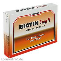 BIOTIN 5mg N Tabletten, 150 ST, Allpharm Vertriebs GmbH