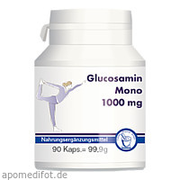 Glucosamin mono 1000mg, 90 ST, Pharma-Peter GmbH
