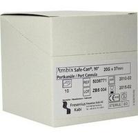 Ambix Safe-CAN Portpunktionskan. gebogen 20Gx37m, 10 ST, Fresenius Kabi Deutschland GmbH