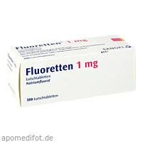 FLUORETTEN 1.0MG, 300 ST, Zentiva Pharma GmbH