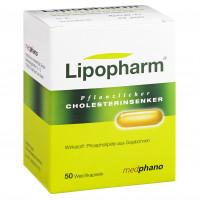 LIPOPHARM PFLANZLICHER CHOLESTERINSENKER, 50 ST, Abanta Pharma GmbH